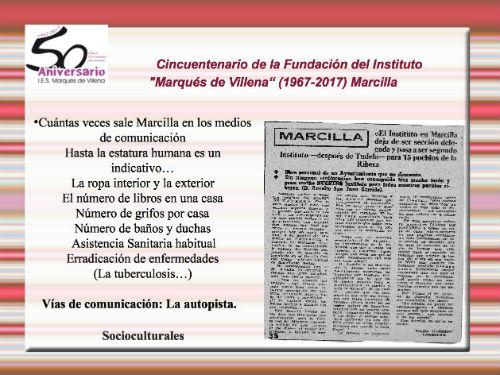 conferencia Marcilla