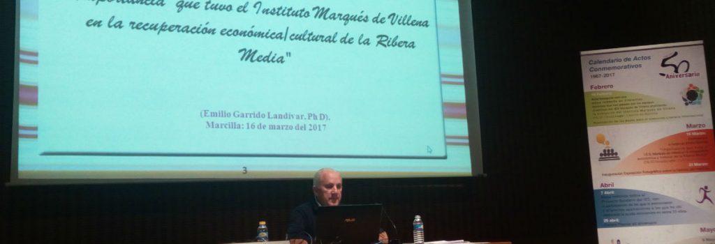 Conferencia de Emilio Garrido